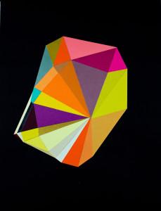 Black Color Crystal #9