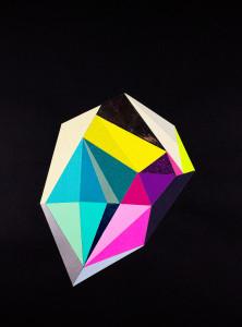 Black Color Crystal #10