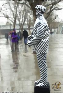 Striped Man