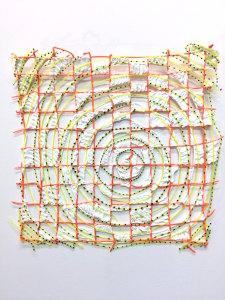 Swirl-Grid Swatch