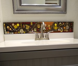 Land of Possibilities (framed backsplash)