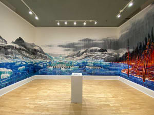 Playing with Fire and Ice Mural
