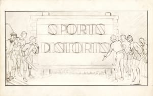 Sports Distorts (Title Concept)