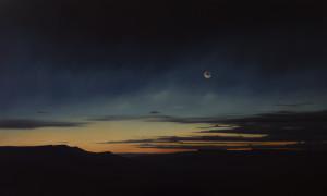 Dawn across Whitmore Canyon