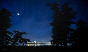 The Guardians, the Moon, and Padilla Bay