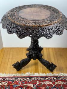 5100 - Ornate Burmese table