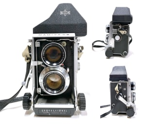 9000 - Mamiya C3, Camera
