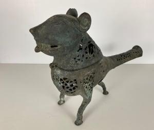 5086 - Antique Persian incense  sculpture