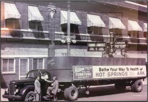Hot Springs Chamber of Commerce Building 1950