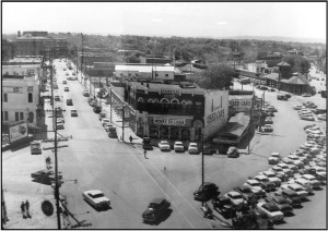Malvern Avenue at Broadway 1955