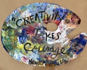 Creatvity takes Courage