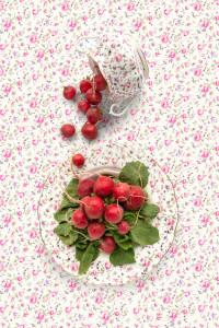 Royal Albert Rose Confetti with Radish