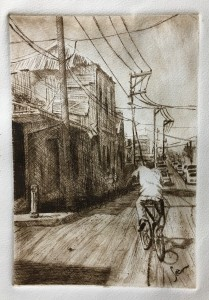 Victoria Street - sepia #7