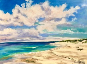 Summer's Spell Canvas Giclee