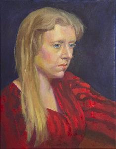 Alla Prima Portrait of Hallie