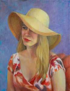 Portrait Study of Sarah Beth Stone