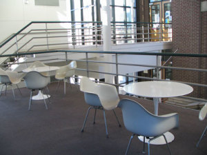 "Tulip Pedestal Table (36"" diameter) 4 of 4"