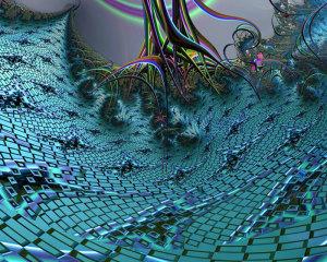 "8th Place – Overall - Sibel Sancar - ""Blue Lagoon"" – www.artdoxa.com/users/digitalart/profile"