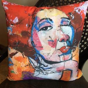 Wild Confidence Indoor Throw Pillow 18x18