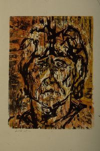 Untitled Wood Block Print III
