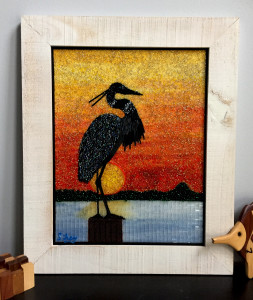 Heron Sunset 2