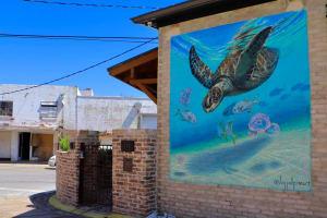 Downtown Panama City Exterior Mural