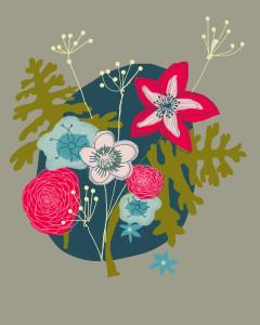 Winter flowers 4