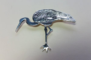 Standing Crane Pin
