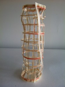 Temporary sculpture