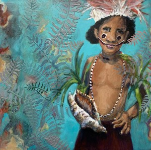 PNG Boy With Triton Shell