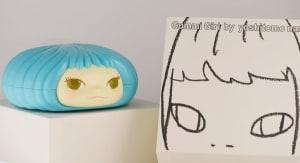 奈良美智糖果罐-藍
