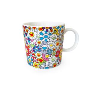 村上隆 花馬克杯 Takashi Murakami Flower Mug