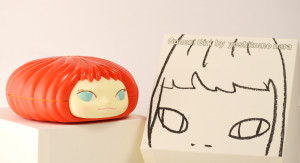 奈良美智糖果罐-紅