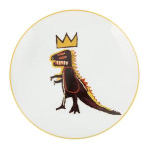 """巴斯奇亞""""Dragon""""瓷盤 Basquiat """"Dragon"""" plate"""