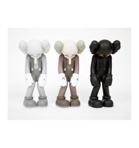 KAWS - Small Lie (Black, Grey, Brown) - SET of 3 小謊言 - 三件一組