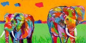 Plains Elephant
