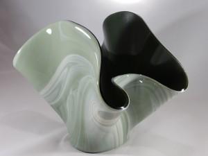 JB-30 - Celadon Draped Vessel
