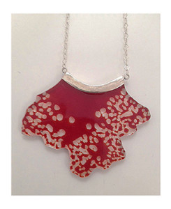 Sun kissed red necklace