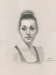 Megan - Portrait from Life