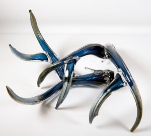 Antler Set Blue w/Metalic Tips