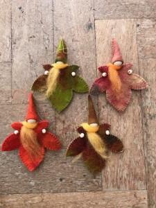 Autumn Leaf Gnome