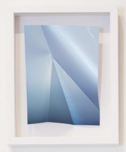Metallic Blue Gloss #1 w/2 folds