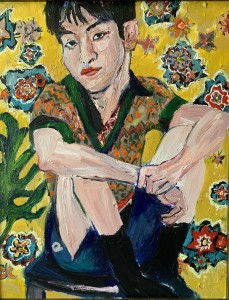 Acrylic on canvas 39