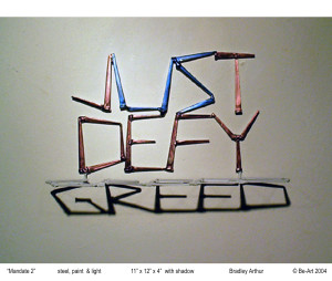 JUST DEFY/greed