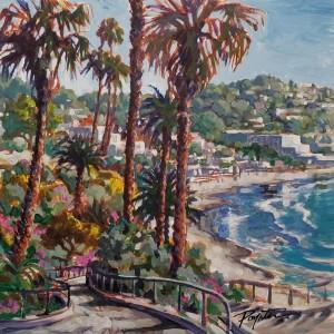 Laguna Beach -  hillside view. California