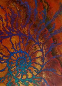 Natural Patterns - Nautilus golden
