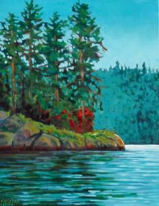Falcon Lake Outcrop