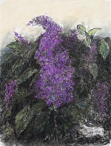 Lilac in Dark Purple