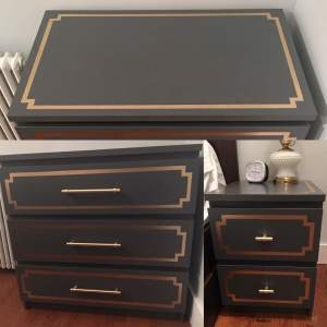 Art Deco Furniture Set