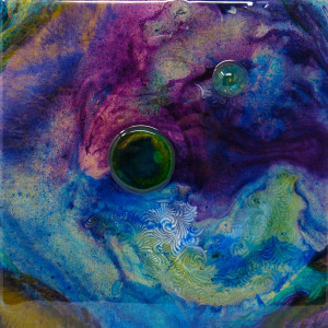 Encircling Purple